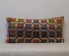 12x24 pillows lumbar pillow organic wool lumbar pillow case kilim lumbar pillow