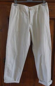 Rick Owens..Italy...Cotton&Silk..Slouchy Fit..Khakis/Pants!