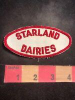 Vintage STARLAND DAIRIES Advertising Patch - Dairy Farm Milk Cows 00WV