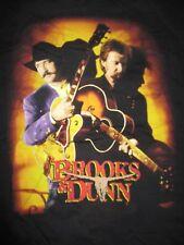 "1997 Kix Brooks and Ronnie Dunn ""Tour of America"" Concert Tour (Lg) T-Shirt"