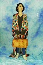 KAWAII  Japanese kimono  made of silk   mada in  Japan retoro
