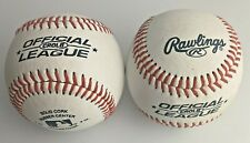 2 Pack BALL RAWLINGS OFFICIAL LEAGUE 10U CROLB BASEBALL BALL ORIGINAL 5OZ 9 Inch