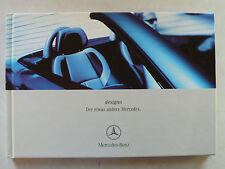 Prospekt Mercedes-Benz designo, 4.2001, Hardcoverbuch mit 68 Seiten + Kärtchen