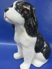 Cavalier King Charles Spaniel Money Box - Tri Cavalier Money Box - New