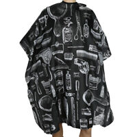 HAIR SALON HAIRDRESSING CUTTING CAPE COVER BARBERS GOWN UNISEX ADULTS KIDS