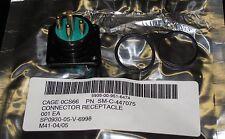 MIL-SPEC POWER CONNECTOR RECEPTACLE SM-C-447075 5935-00-951-6474 SMB662182 GC075