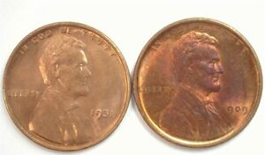 1909-VBD & 1931 LINCOLN CENT CHOICE / GEM UNCIRCULATED SCARCE IN BRILLIANT UNC