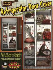 Refrigerator Sticker Haunted House Carnival Halloween Party Decoration Cling