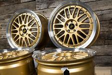 Alufelgen 19 Zoll KT22 Mercedes A C-Klasse W176 W177 F2A W205 W204 W207 Gold