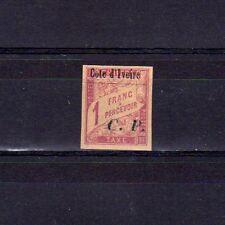 COTE D'IVOIRE Colis Postaux n° 15 neuf avec charnière