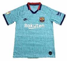 2019/20 Team Barcelona FC Teal 3rd Third Stadium Jersey Soccer Medium Premier