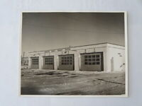 Vintage Kingston Ontario Canada Public Transit System Bus Service Building Photo