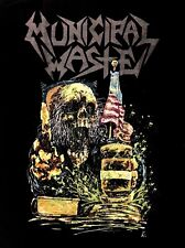 MUNICIPAL WASTE cd lgo JUDGEMENT MW Official Black SHIRT LRG new