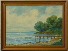 Jorgen Luplau Janssen  *1912 » Ruderboot am Steg «
