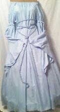 Renaissance Fantasy Baby Blue Chemise w/ shoulder puff & dagget sleeve Gown