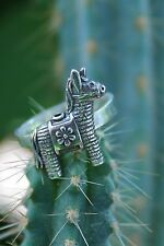 Gabriela Sanchez Sterling Silver Ring Donkey Piñata Mexican Party Fiesta Size 7