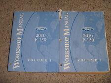 2010 Ford F150 Truck Service Repair Manual XL XLT Lariat STX FX4 4.6L 5.4L 6.2L