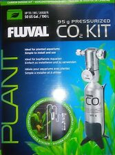 FLUVAL AQUARIUM PLANT 95g PRESSURIZED CO2 COMPLETE KIT 55 GAL+ KIT w CO2 Refills