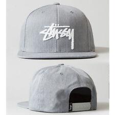 New Gray Fashion trend Men's Snapback adjustable Baseball Cap Hip Hop Cool hat