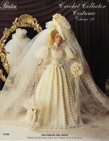1904 Gibson Girl Bride Crochet Collector Costume Vol. 19 Paradise Publications