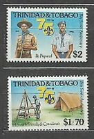 Trinidad And Tobago - Mail Yvert 545/6 MNH Scoutismo
