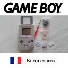 Coque GAME BOY fat original GRIS NEUF Grey NEW + tournevis - étui shell case