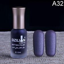Nail Polish Scrub Non-Toxic Environmentally Friendly Matte Satin Nude X5