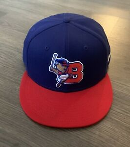 Buffalo Bison New Era Fitted Cap Hat 7 3/4 59Fifty Minor League Baseball
