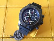 PRE-OWNED BREITLING SKYLAND AVENGER BLACK STEEL LIMITED EDITION WATCH M13380
