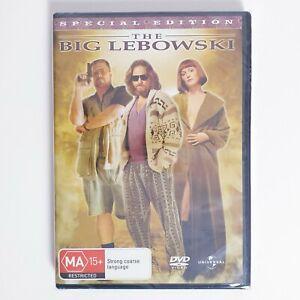 The Big Lebowski Movie DVD Region 4 AUS - Comedy Factory Sealed
