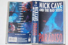 NICK CAVE AND THE BAD SEEDS -At The Paradiso- VHS-Kassette