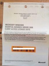 Microsoft Windows Essential Business Server 2008 5 Device/User Licenses