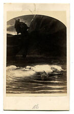 THE LADY OF THE LAKE, CDV OF ARTWORK.