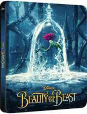Beauty and the Beast - Limited Edition Steelbook (Blu-ray 2D/3D, 2017) NEW!!