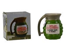 Ceramic Novelty Grenade Coffee Mug Prank Gun Military Party Gag Gift New