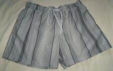 M&S BLUE HARBOUR SILVER GREY Mens SWIM SHORTS SWIMMING SUMMER BEACH - XL - New