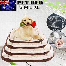 Heavy Duty Warm Pet Bed Mattress Dog Cat Pad Soft Mat Cushion Extra Large Size Coffee XL 90x70x15cm