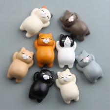 3D Creative Cartoon Lazy Cat Magnetic Refrigerator Fridge Stickers Home Decor