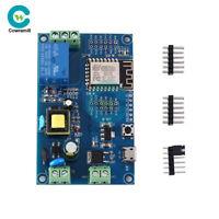 ESP8266 Power Supply WIFI ESP-12F Development Board Single-channel Relay Module