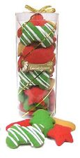Claudia's Canine Cuisine BONES Holiday Tube DOG COOKIES Treat Natural USA FRESH