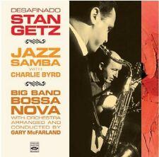 Stan Getz: Desafinado: Jazz Samba & Big Band Bossa Nova (2 Lps On 1 Cd)