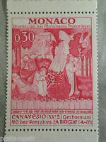 MONACO 1972, timbre 905, TABLEAU FRESQUE CANAVESIO, PAINTING, neuf**, MNH STAMP