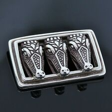 Exceptional B Kieselstein Cord Sterling Silver Pin 3.8 Grams #d8