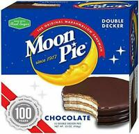 MoonPies Double Decker, Chocolate 12 Count Pack