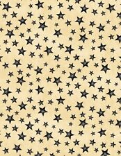 Wilmington The Way Home by Jennifer Pugh 82504 299 Tan Stars Cotton Fabric