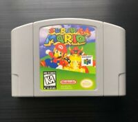 Super Mario 64 (Nintendo 64, 1996) N64 - Tested, Working, Great Gift! USA SELLER