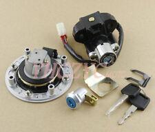 Ignition Switch Gas Cap Cover Seat Lock Key Set for Suzuki SV650 1999-2002