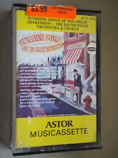 Sunshine Songs Of The Great Depression The Sound Stage Orchestra Tape Cassette