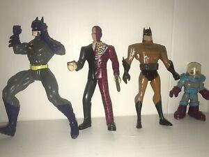 8 Action Figures: Batman, Harvey Dent, Joker, Evel Knievel, Davy Jones, Jim West