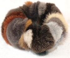 Mink Hair Bands fur Velvet Bracelet Cuff Shorn Hair Accessories Multicoloured
